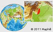 Physical Location Map of Dera Ghazi Khan