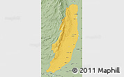 Savanna Style Map of Dera Ghazi Khan