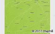 Physical 3D Map of Faisalabad