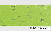 Physical Panoramic Map of Faisalabad