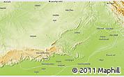 Physical 3D Map of Jhelum