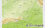 Physical Map of Jhelum