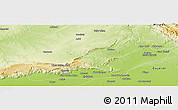 Physical Panoramic Map of Jhelum
