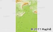 Physical 3D Map of Mainwali