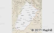 Classic Style Map of Punjab