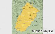 Savanna Style Map of Punjab