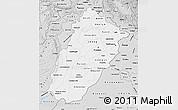Silver Style Map of Punjab