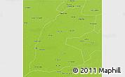 Physical 3D Map of Multan