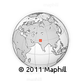 Outline Map of Multan