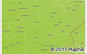 Physical 3D Map of Sahiwal