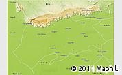 Physical 3D Map of Sargodha