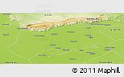 Physical Panoramic Map of Sargodha