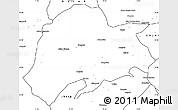 Blank Simple Map of Sargodha