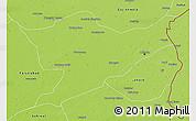 Physical 3D Map of Sheikhupura