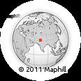 Outline Map of Sheikhupura
