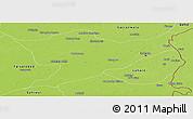 Physical Panoramic Map of Sheikhupura