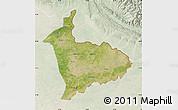Satellite Map of Sialkot, lighten