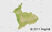 Satellite Map of Sialkot, single color outside