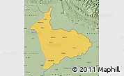 Savanna Style Map of Sialkot