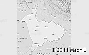 Silver Style Map of Sialkot