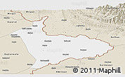 Classic Style Panoramic Map of Sialkot