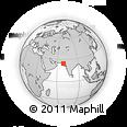 Outline Map of Badin