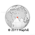 Outline Map of Dadu