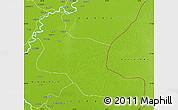 Physical Map of Khairpur
