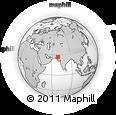 Outline Map of Khairpur