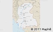 Classic Style Map of Sind