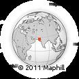 Outline Map of Sind