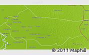 Physical 3D Map of Sanghar