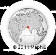 Outline Map of Sanghar