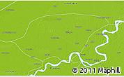 Physical 3D Map of Shikarpur