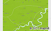 Physical Map of Shikarpur