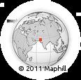 Outline Map of Shikarpur