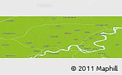 Physical Panoramic Map of Shikarpur