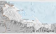 Gray 3D Map of Bocas del Toro