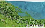 Satellite 3D Map of Bocas del Toro