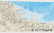 Shaded Relief 3D Map of Bocas del Toro