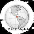 Outline Map of Changuinola