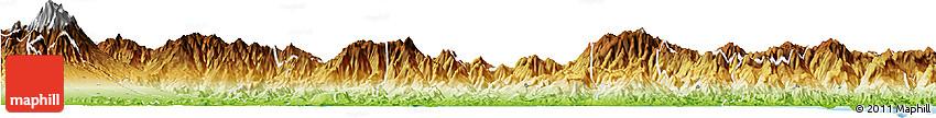 Physical Horizon Map of Chiriqui Grande