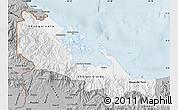 Gray Map of Bocas del Toro