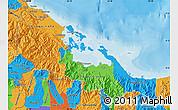 Political Map of Bocas del Toro