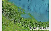Satellite Map of Bocas del Toro