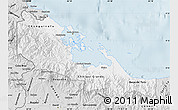 Silver Style Map of Bocas del Toro