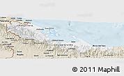 Classic Style Panoramic Map of Bocas del Toro