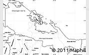 Blank Simple Map of Bocas del Toro