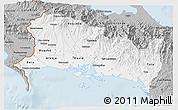 Gray 3D Map of Chiriqui