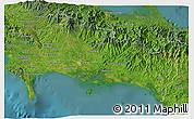 Satellite 3D Map of Chiriqui